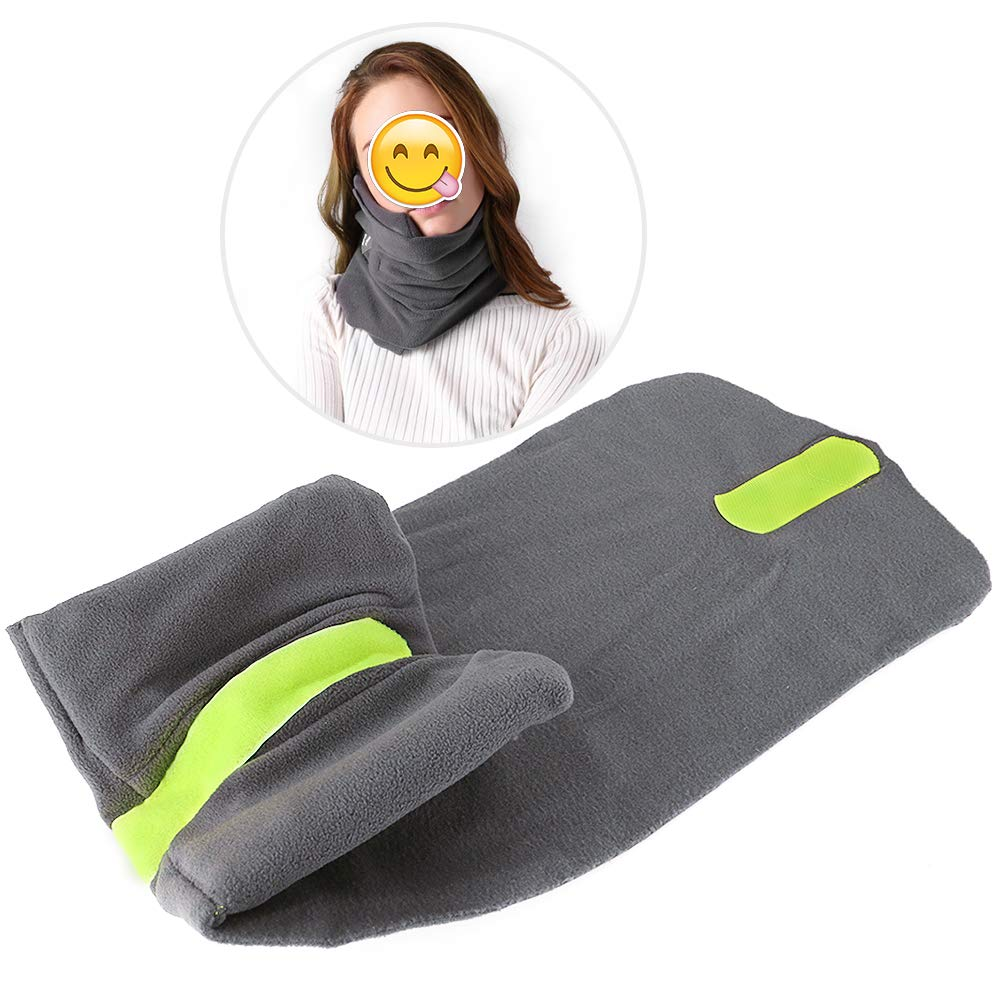 Bosiwee Turtle Neck Pillow Travel, Trtl Scientifically Proven Super Soft Neck Support Travel Pillow-Machine Washable
