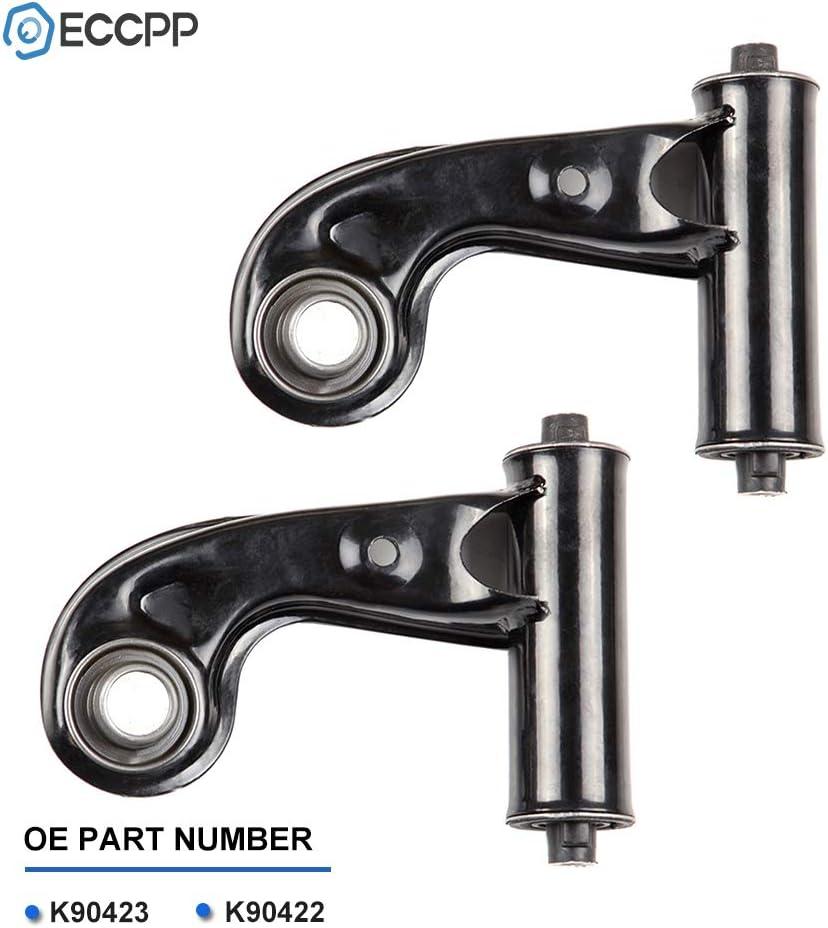 LSAILON 2pcs Front Upper Control Arms Kit Fit for Mercedes-Benz C220 C230 C280 C36 AMG C43 AMG CLK320 CLK430 CLK55 AMG E320 E420 E430 E55 AMG SLK230 SLK32 AMG SLK320