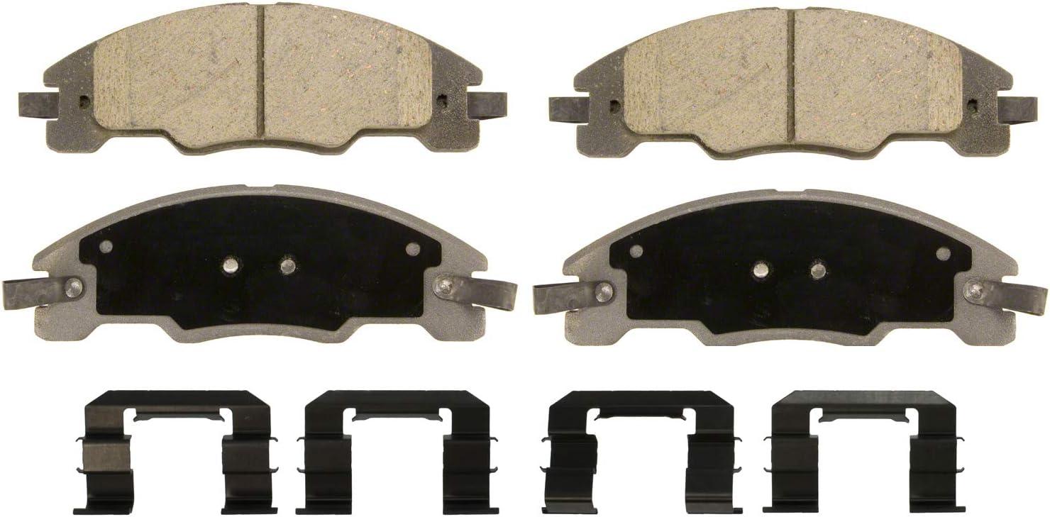 Amazon Com Wagner Thermoquiet Qc1339 Ceramic Disc Brake Pad Set Automotive