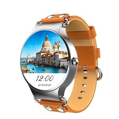 Lemfo lef1 reloj inteligente teléfono MTK6580 Android 5.1 OS 512 MB + 8GB 3,3