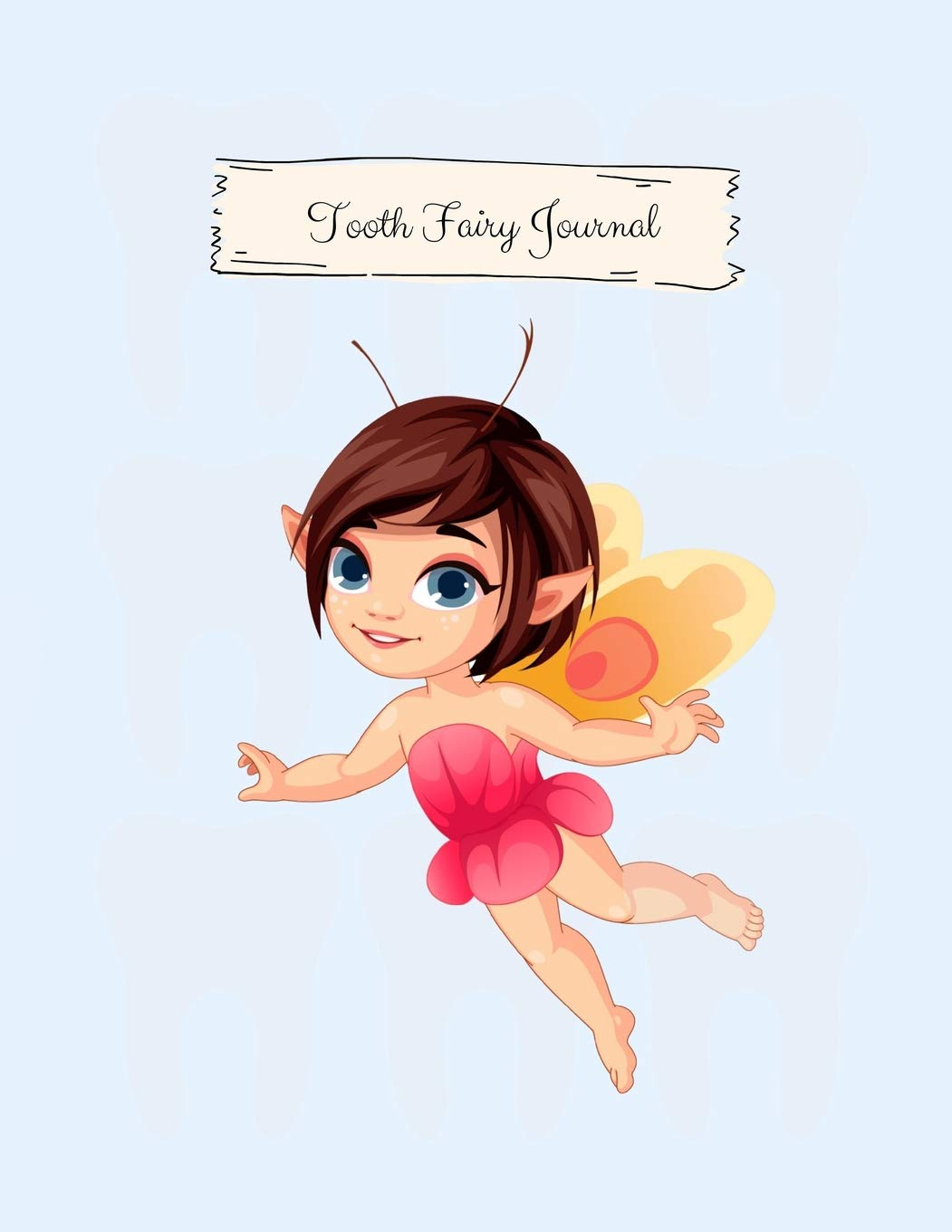 Tooth Fairy Hair Bow And Display Card Brand New