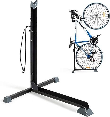 COSTWAY Soporte para Bicicletas de Acero Altura Regulable 62-76cm ...