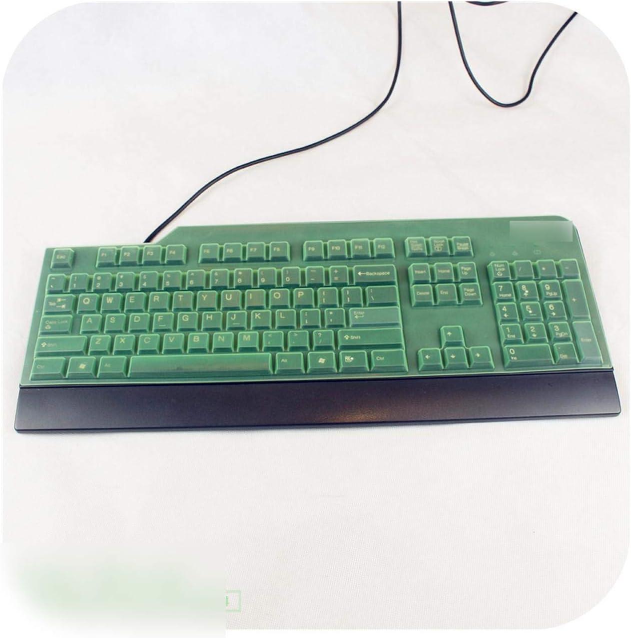 Desktop Computer All in One Pc Keyboard Cover Protector for Lenovo Sk 8813 Ku 0225 8820 8825 Ku0225 Kb1021 Ekb 425A Kb 1021-Green