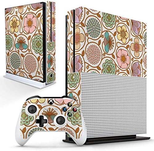 igsticker Xbox One S 専用 スキンシール 正面・天面・底面・コントローラー 全面セット エックスボックス シール 保護 フィルム ステッカー 004363