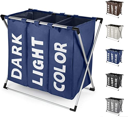 laver panier Pop Up Linge Couleur Rapide Facile Soins Lavage Panier Bleu