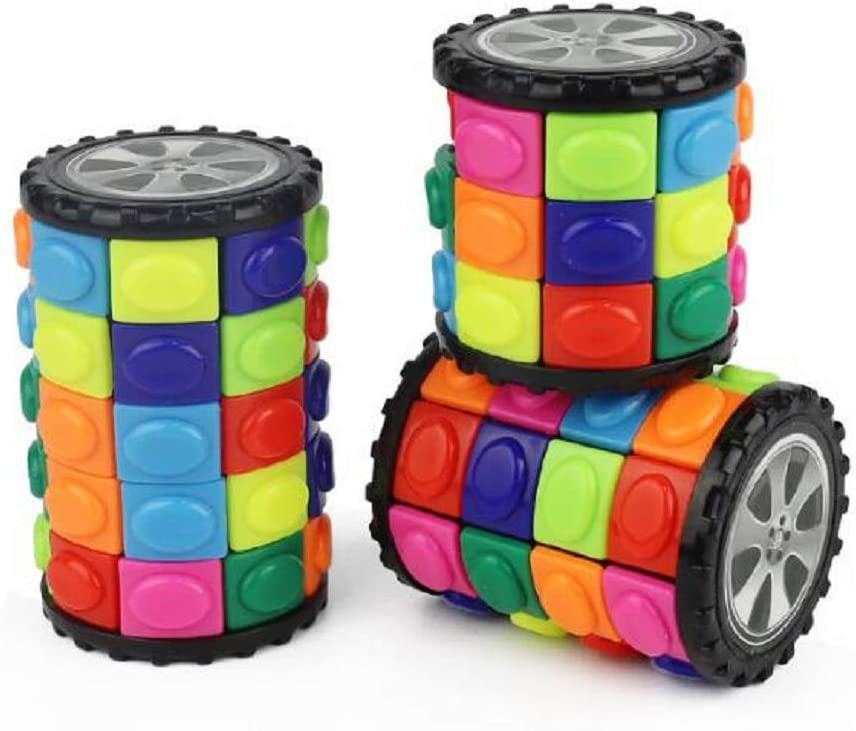 Details about  /5pcs Kids Magic Math Digital Cube Cylindrical Puzzle Educational Arithmetic Toys