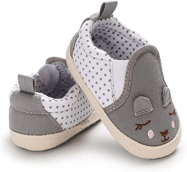 Cute Canvas Bandage/Flat/Slip On Light Weight Trainers Running Shoes Baby Sneaker Shoes for Toddler Boy Girls