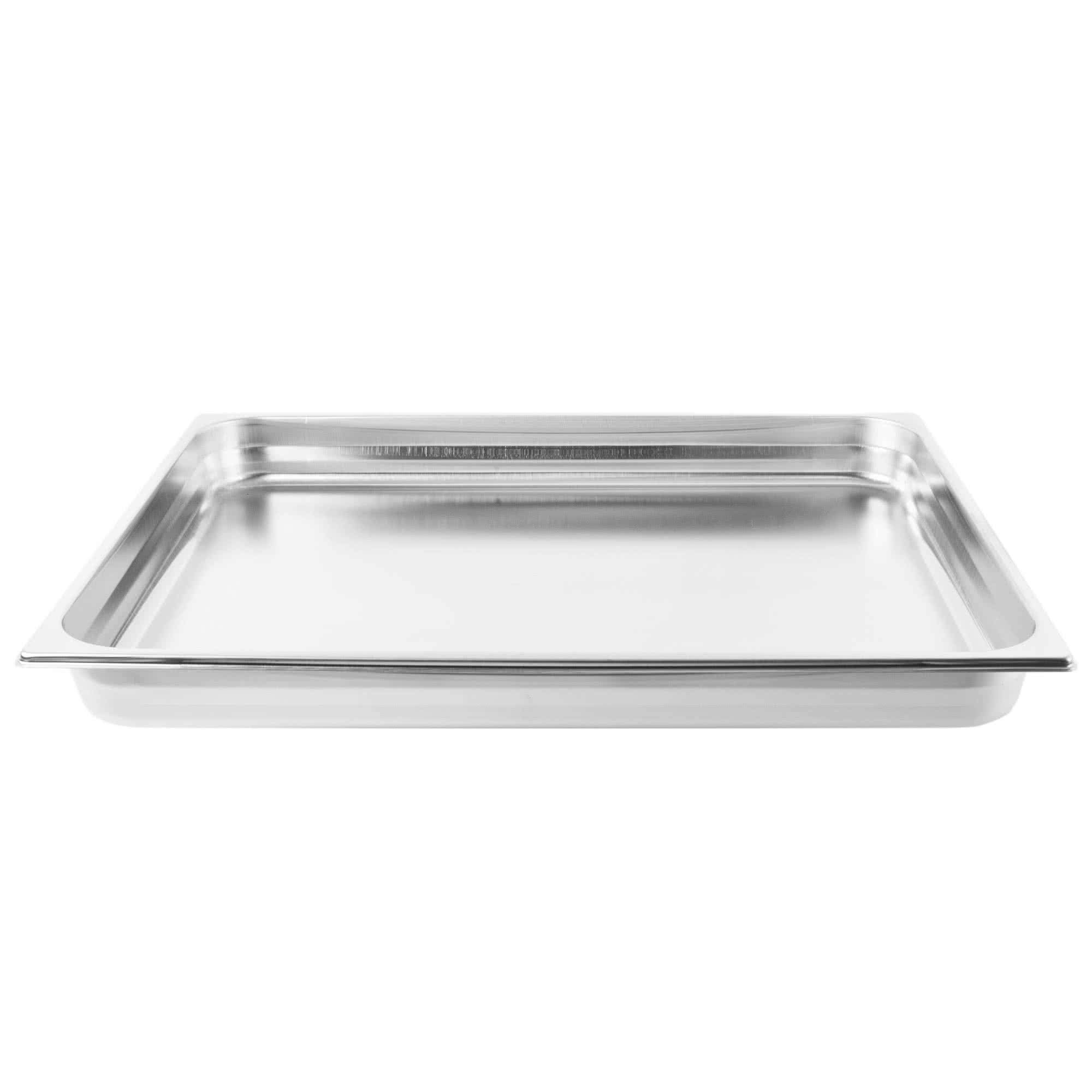 TableTop King V210651 Double Wide Stainless Steel Steam Table/Hotel Pan - 2 1/2'' Deep by TableTop King