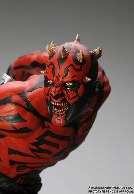 Star Wars Darth Maul 1/7 Scale Light Up Artfx Pvc Statua: Amazon ...