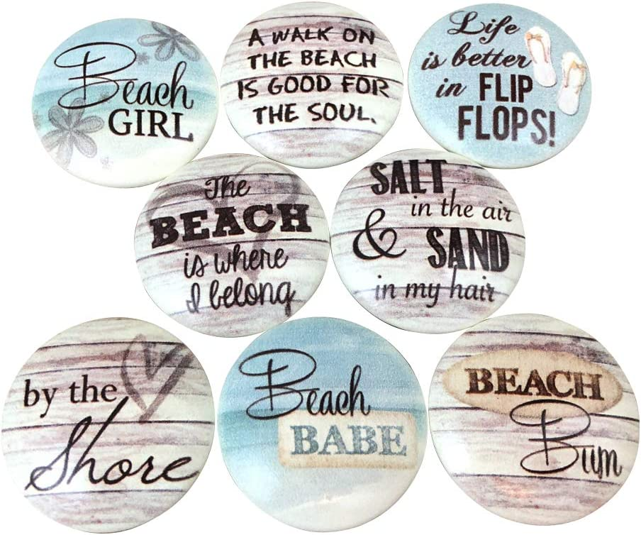 Set of 8 Beach Bum Cabinet Knobs