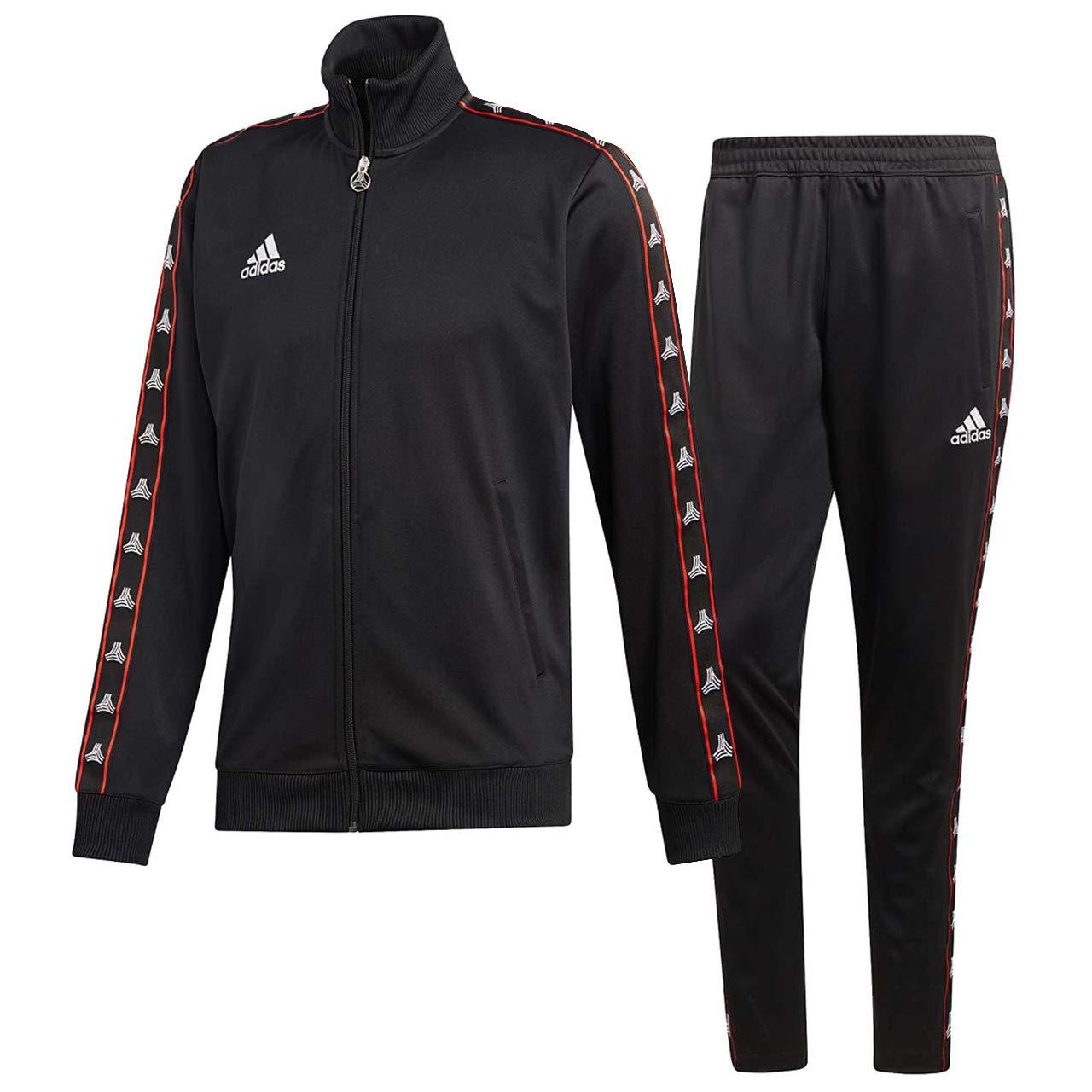 アディダス(adidas) TANGO STREET クラブハイブリッドジャケット J/M J/M&パンツ 上下セット(ブラック 日本/ブラック) FVX75-DW9360-FVX76-DW9362 B07NDVSKFC 日本 J/M (日本サイズM相当)|ブラック/ブラック ブラック/ブラック 日本 J/M (日本サイズM相当), 福地村:42ed1337 --- dqfansurvey.online