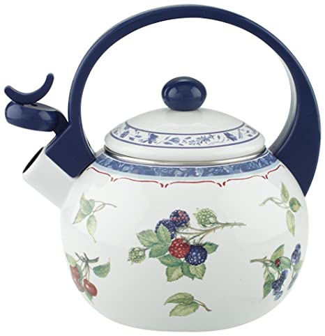 Villeroy & Boch Cottage Kitchen Tetera, 2 l, Metal, Colorido/Azul