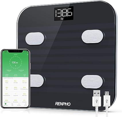 Amazon.com: RENPHO - Báscula de grasa corporal, con ...