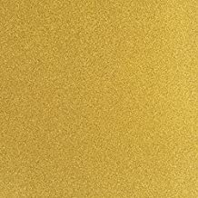 TooMeeCrafts 11-Inch by 8-Inch Glitter Cardstock Bright Gold Color,Pack of 10 …