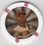 2014 Topps Poker Chipz Gold Dominic Brown Philadelphia Phillies
