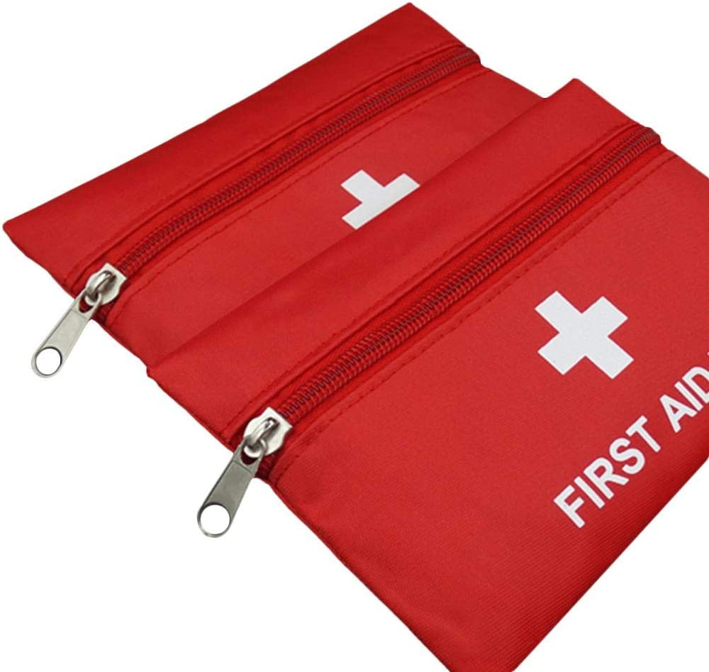 Blue-Yan 12 Sets of Outdoor Sports Camping Driving Workplace Accidents Small Universal Compact Emergency Waterproof First Aid Kit