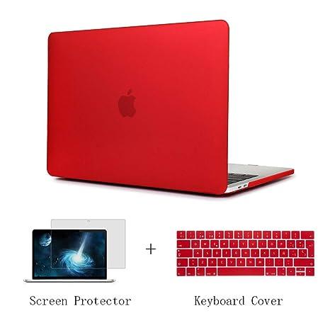 Batianda Funda para MacBook Pro 13 A1989 A1706 A1708 (2018 2017 2016), MacBook Pro 13
