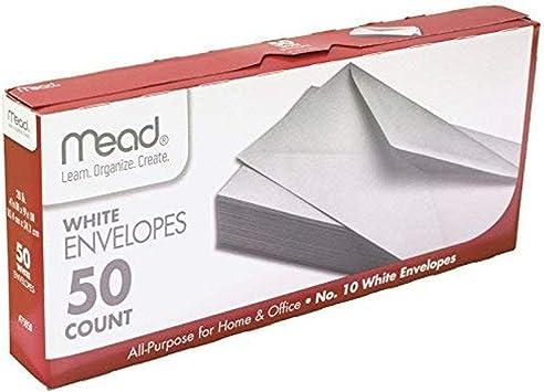 """4-1//8/"""" x 9-1//2/"""" No 10 White All Purpose Window Envelopes"""