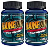 Flameout Omega-3 Fish Oil, 2 Pack (180 Softgels)