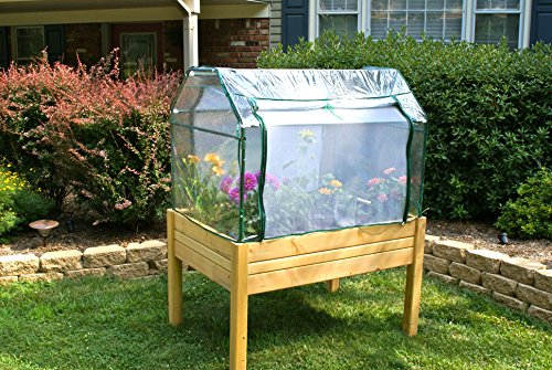 Eden-Raised-Garden-Table-3ft-x-4ft-w-Optional-Enclosure-by-Riverstone