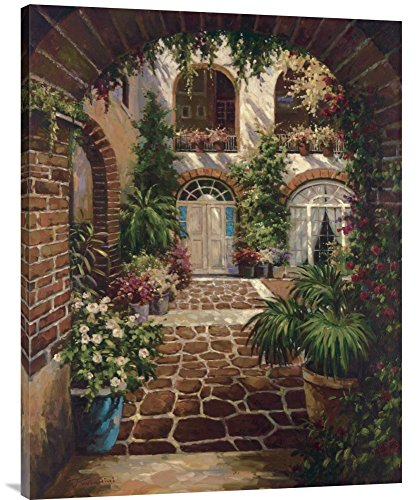 Twindini Courtyard - Global Gallery GCS-123255-3040-142