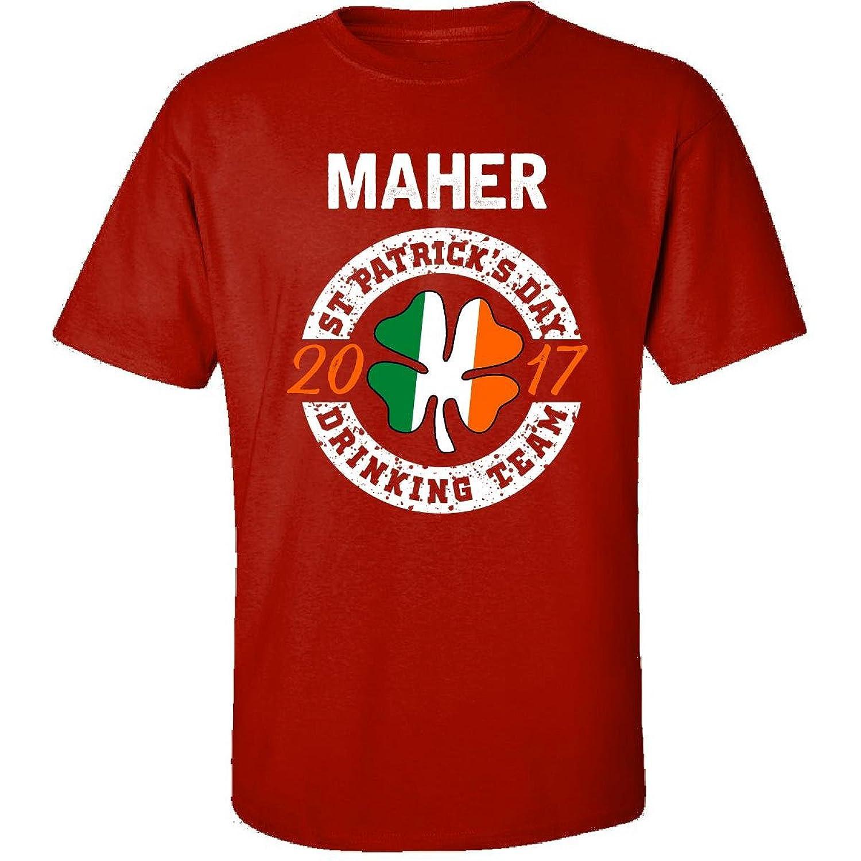 Maher St Patricks Day 2017 Drinking Team Irish - Adult Shirt