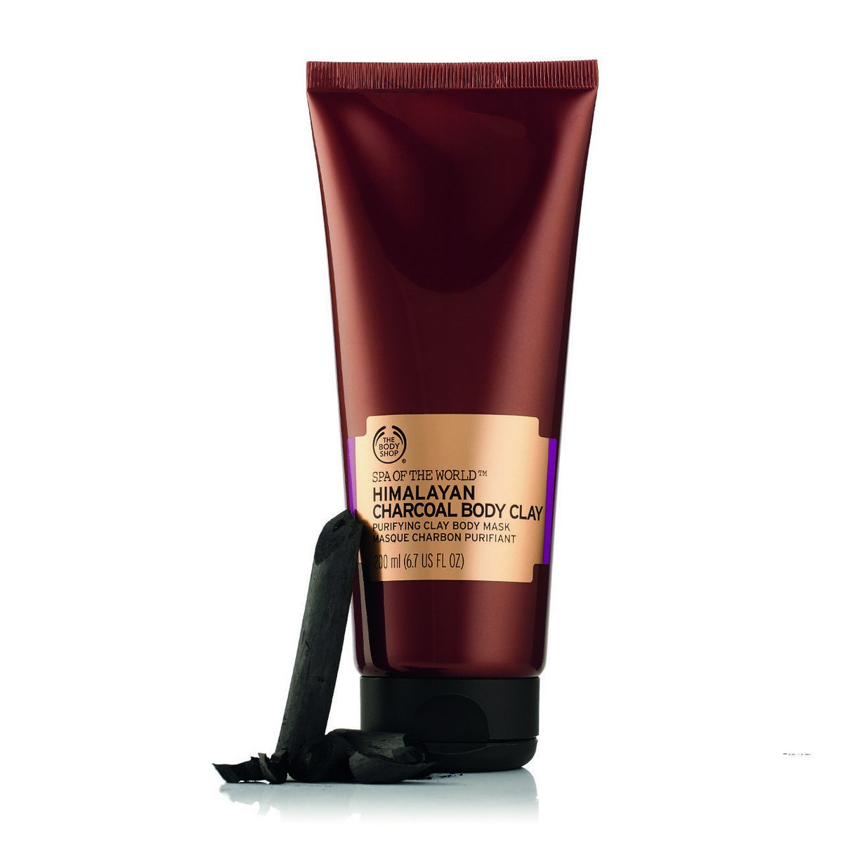 The Body Shop Himalayan Charcoal Purifying Clay Body Mask The Body Shop Canada