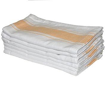 amazon com kitchen dish towels 6 pack yellow professional grade rh amazon com