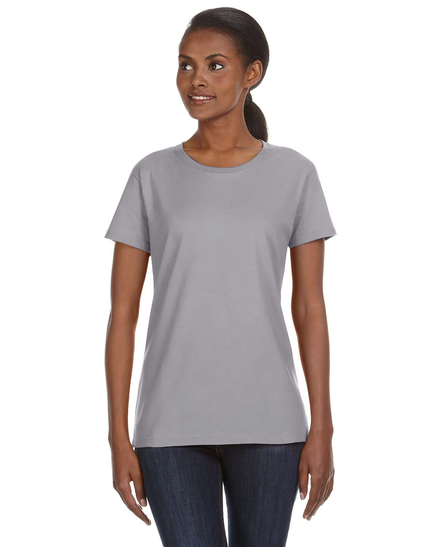 Amboss Damen ringgesponnene Midweight mid-scoop T-Shirt: Amazon.de:  Bekleidung