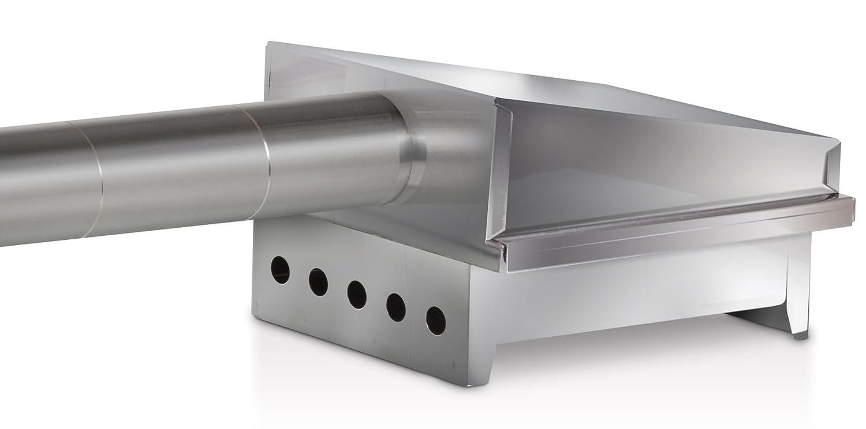 29.5x19.5x28.5 cm Steel Reber Smoking Kit for Cold Smoker 10046N
