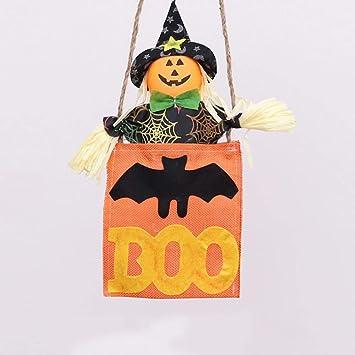 Lxj Espantapájaros De Halloween Decorar Material Adornos