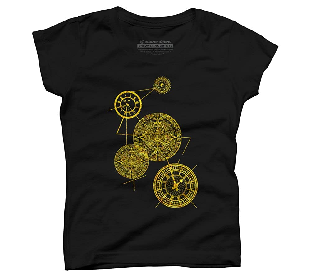 Time Machine Girls Youth Graphic T Shirt Design By Humans