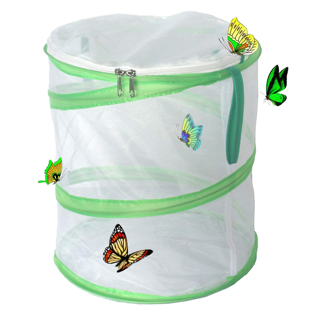 Trasfit Pop-up Insect and Butterfly Habitat Cage Terrarium - 12 x 14 Inches Tall
