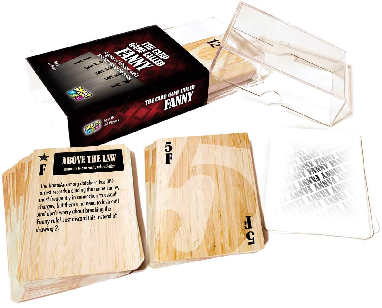 Personalized Game for People Named Fanny Card Game Called Fanny