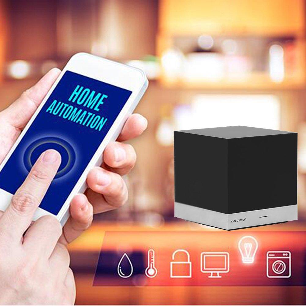 Умный дом ORVIBO ИК пульт дистанционного управления совместимый с Alexa, волшебный куб беспроводной контроллер беспроводной беспроводной беспроводной дом Wi-Fi пульт дистанционного управления для Android iOS телефона (Фото 4)