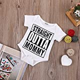Baby Girl Boy Clothes Straight Outta Mommy Bodysuit