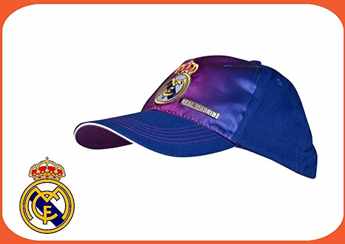 Gorras - Gorra lila real madrid adulto: Amazon.es: Equipaje