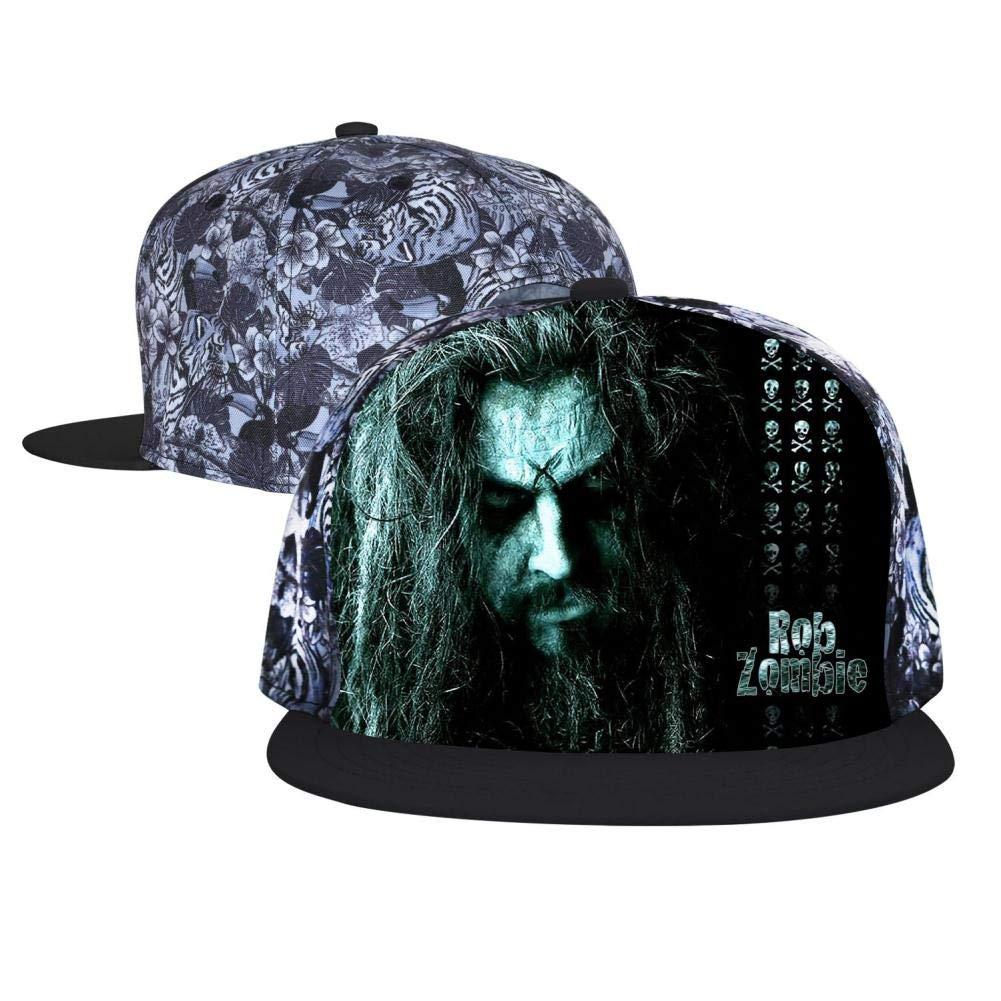 Unisex Youth Printed Amazing-Rob-Zombie 3D Adjustable Baseball Cap Trucker Hats Hip Hop Cap