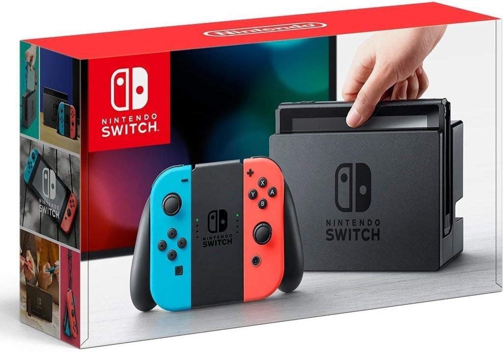 Amazon | Nintendo Switch 本体 (ニンテンドースイッチ) 【Joy-Con (L) ネオンブルー/ (R)  ネオンレッド】(キャンペーンプリペイド番号なし) | ゲーム機本体