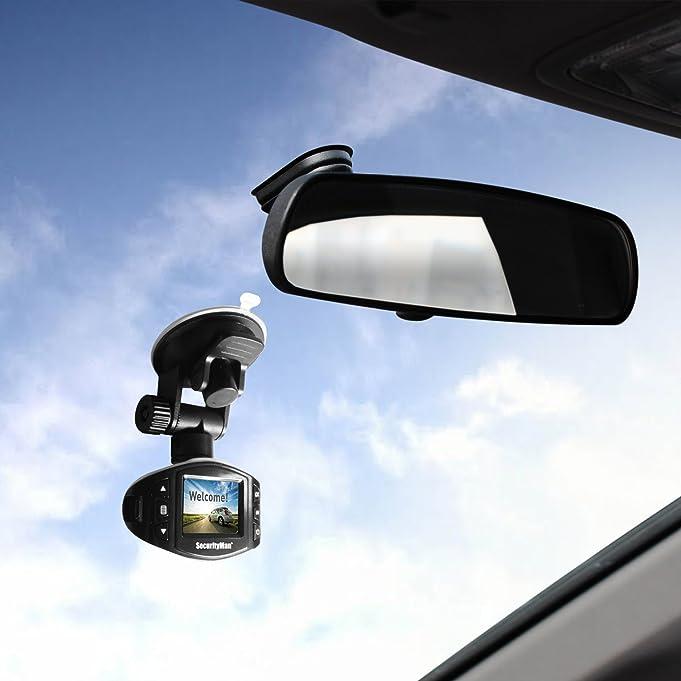 Amazon.com: Cámara Carcam-SDEII Mini HD 1080P del coche, Micro grabadora de tarjetas SD con el sensor de impacto para Dashboard de cualquier automóvil, ...