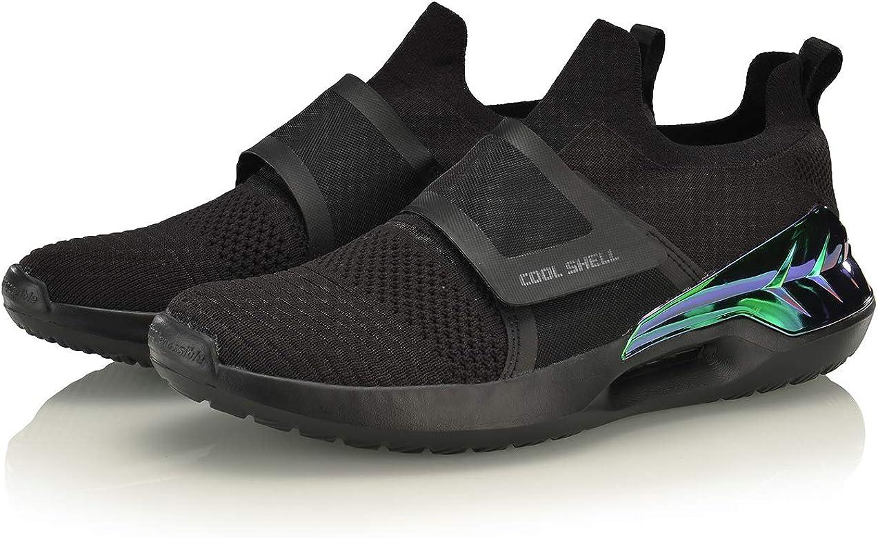 LI-NING AGLP027 - Zapatillas deportivas para hombre, Negro (Negro), 41.5 EU: Amazon.es: Zapatos y complementos