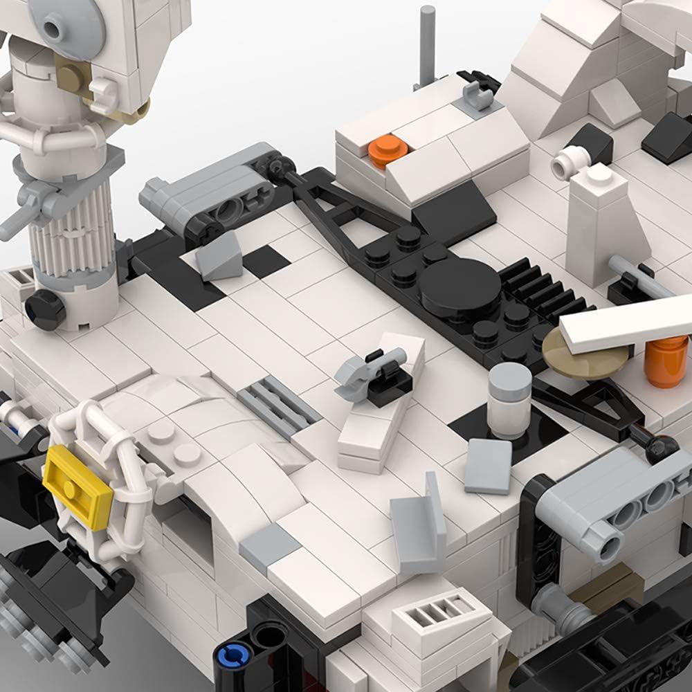 48997 Perseverance Mars Rover /& Ingenuity Helicopter NASA Building Blocks Creative Car Model Toys 661 PCS