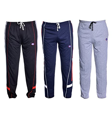 92450f7b7ea VIMAL Men s Poly Cotton Track Pants - Pack of 3  Amazon.in  Clothing ...