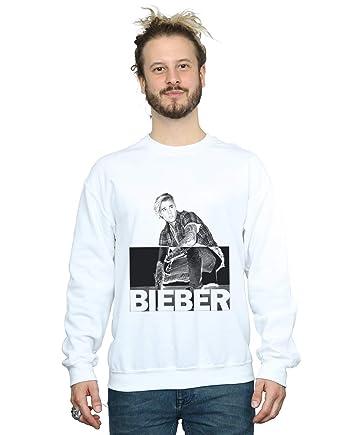Absolute Cult Justin Bieber Hombre Split Contrast Camisa De Entrenamiento: Amazon.es: Ropa y accesorios