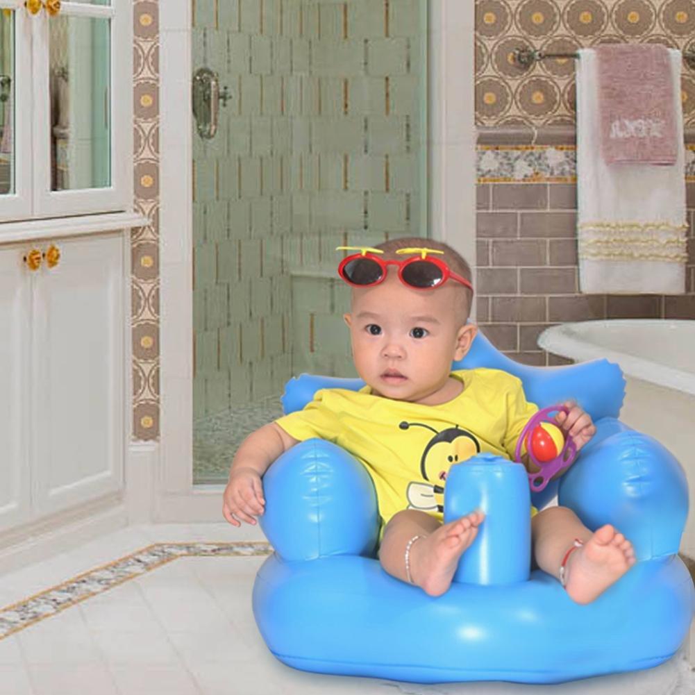 seggiolone per lapprendimento del Bambino Sroomcla Nuovo Sgabello da Bagno Gonfiabile divanetto per seggiolone per Bambini. seggiolino per lapprendimento del Bambino