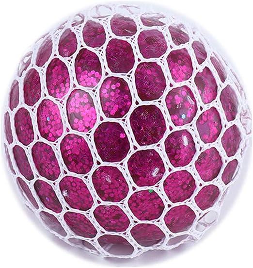 DDG EDMMS Malla Squishy Ball Toys Alivio del estrés Exprimir ...