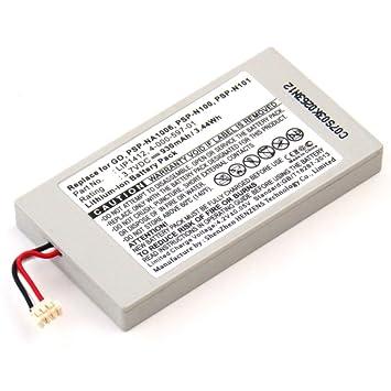 subtel® Batería Premium para Sony PSP Go (PSP-N1000, PSP ...