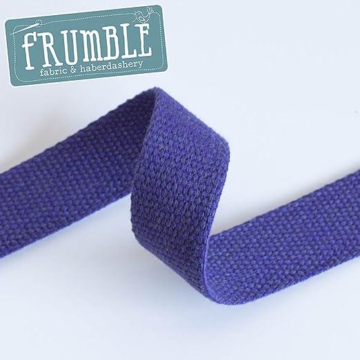 Rollo de cinta de lona de 30 mm, 10 m – Cincha de lona pesada para cinturón de 2 mm de grosor, cincha fuerte: Amazon.es: Hogar