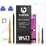 YONTEX Batería para iPhone 6 Plus 3250mAh, Batería iPhone 6 Plus DE Alta Capacidad con 10% más de Capacidad Que la batería Original y con Kits de Herramientas de reparación y Protector de Pantalla