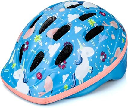 OutdoorMaster Toddler Kids Bike Helmet - Multi-Sport Use